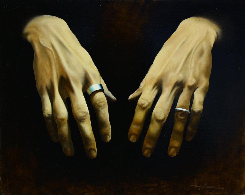 3D Hands Art