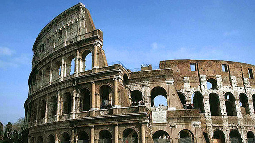 3D Colosseum In Rome