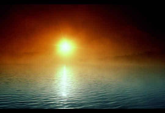 Natural Sunset Scene
