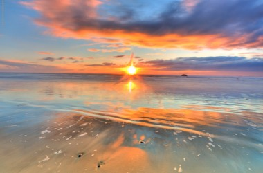 Nature Sunset Scene 2509