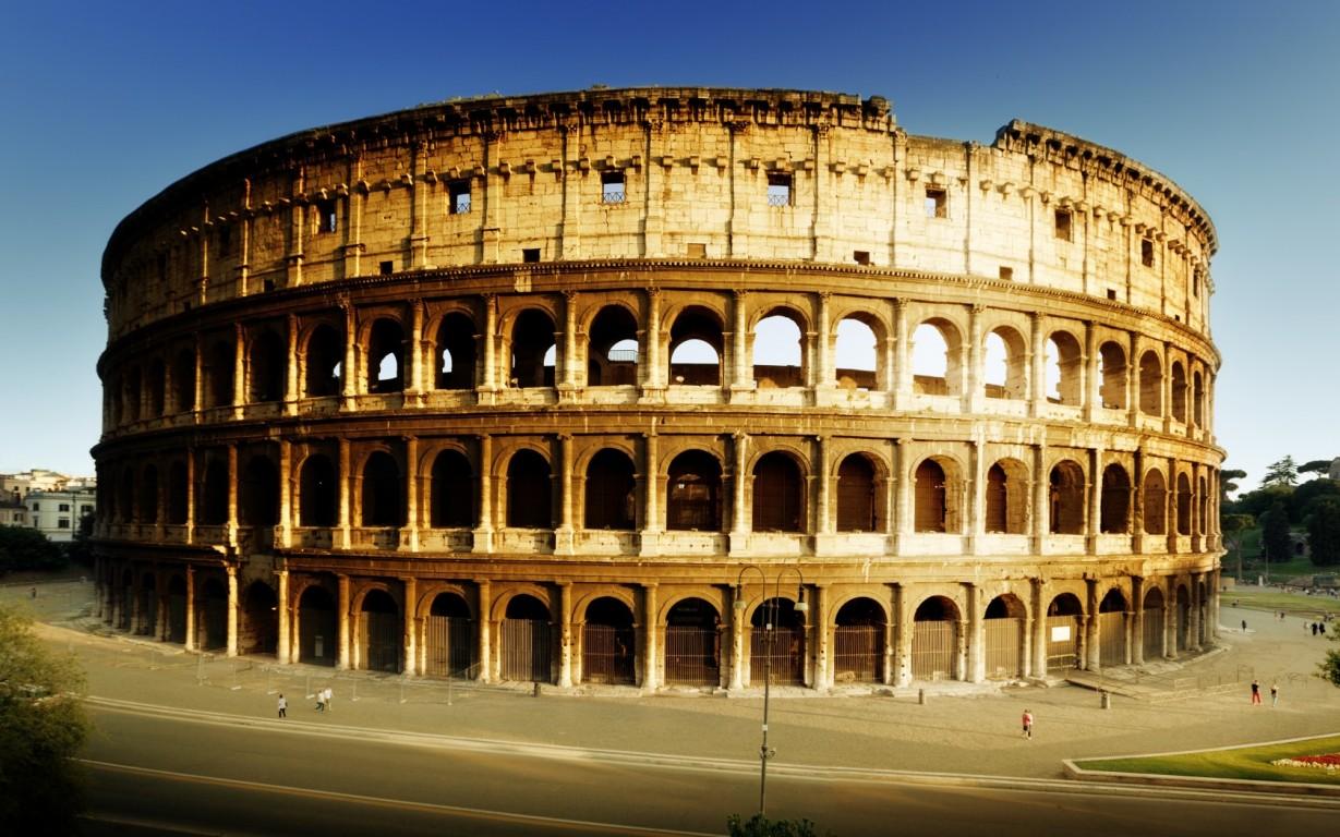 Free Colosseum In Rome 2031