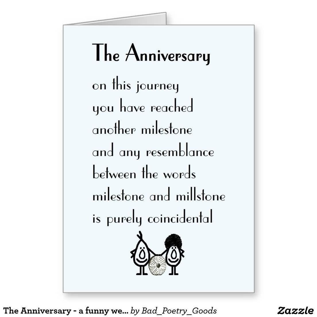Wonderful Anniversary Poem