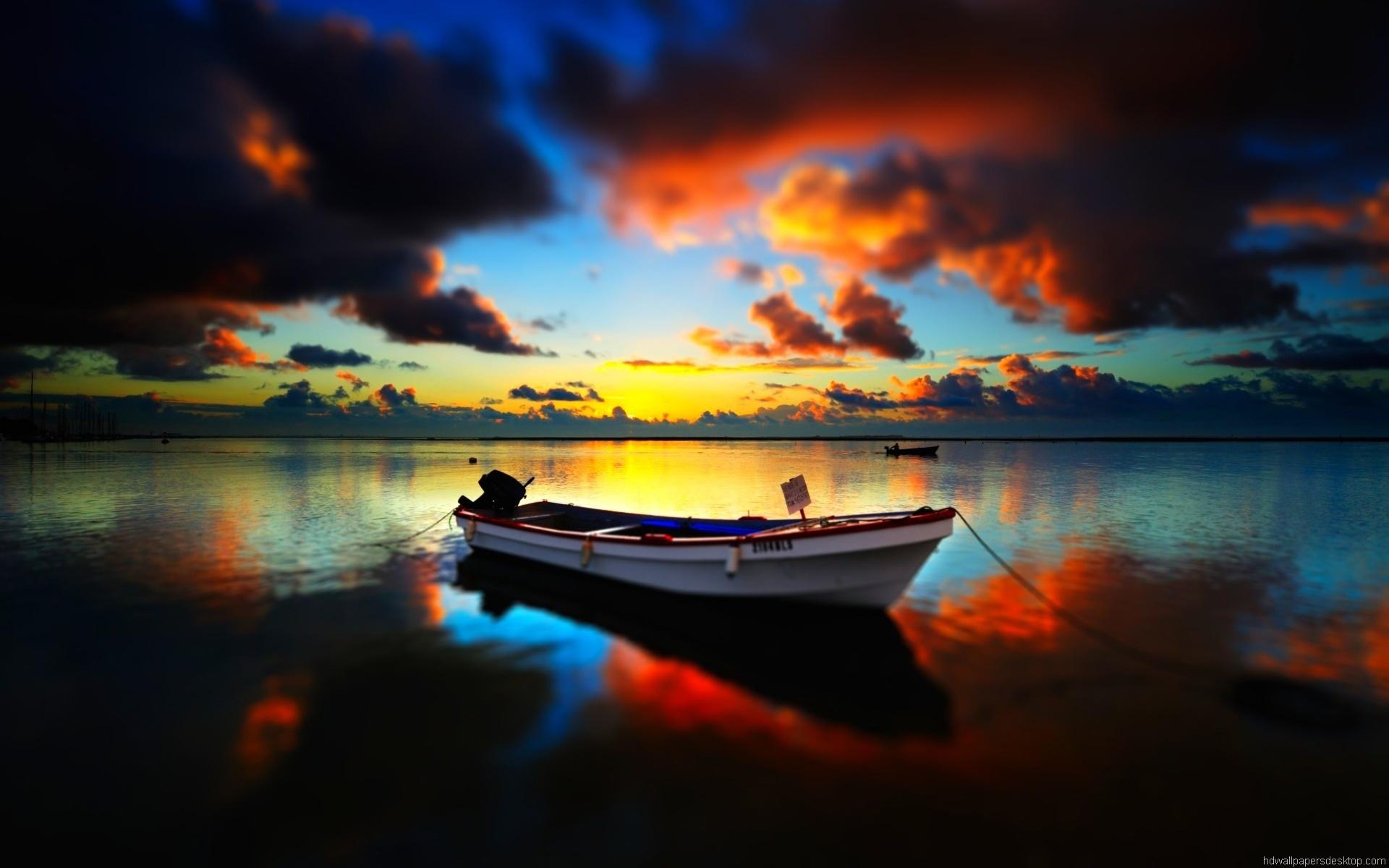 Boat Full HD Wallpaper