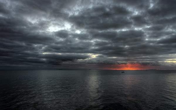 Darkness Clouds Ultra HD Wallpaper