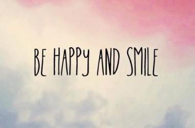 Be Happy Smile 4876