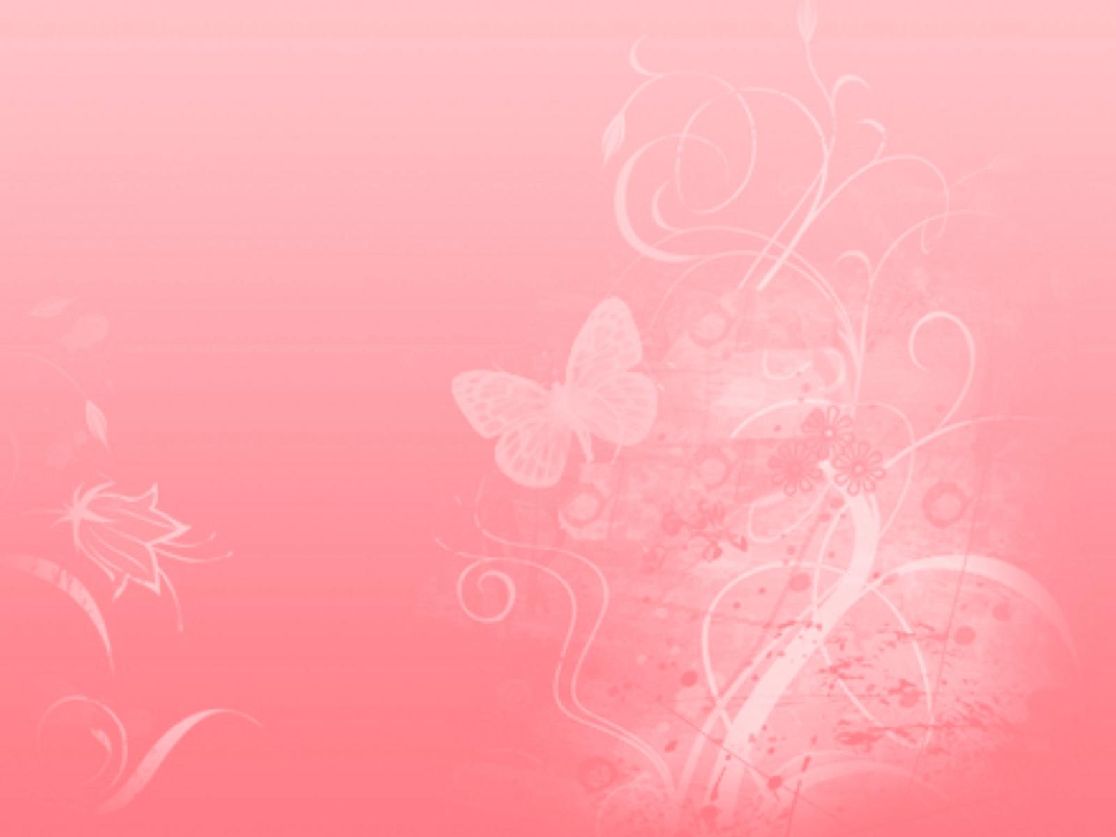 Fractal Pink Wallpaper