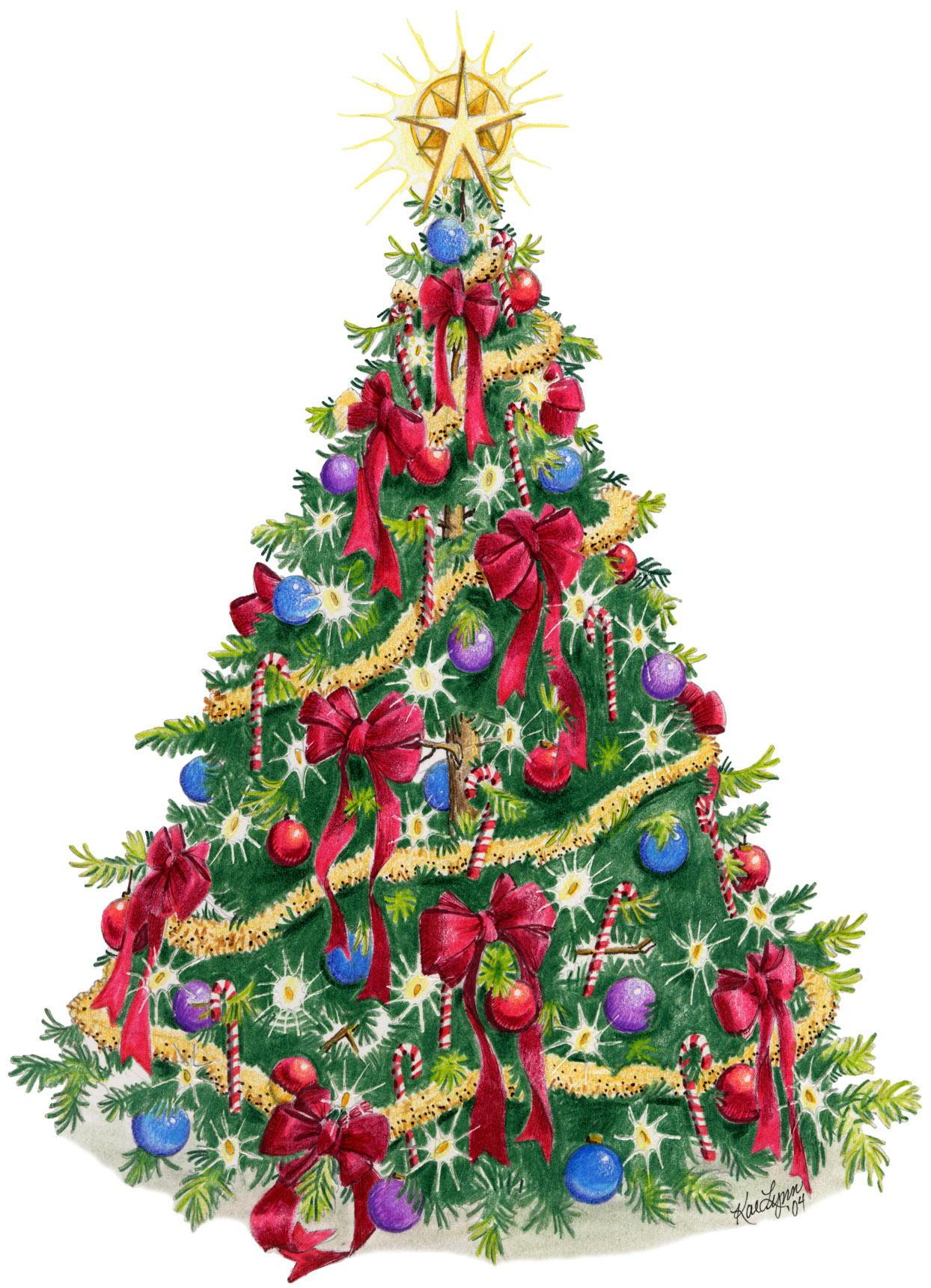 Christmas Tree Wallpaper 5180 - HDWPro