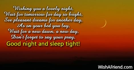 3D Good Night Poems