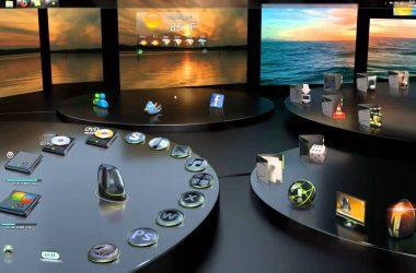 Floral 3D Desktop