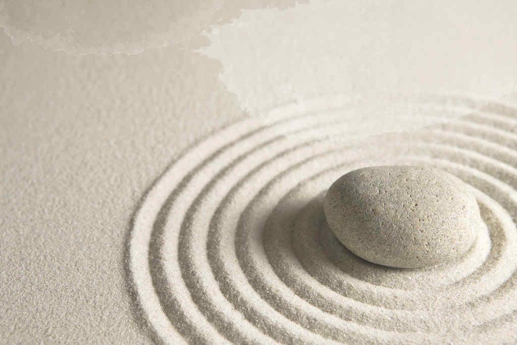 White Zen Image
