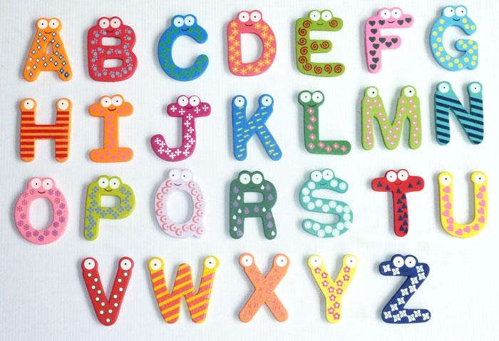 3D Alphabets