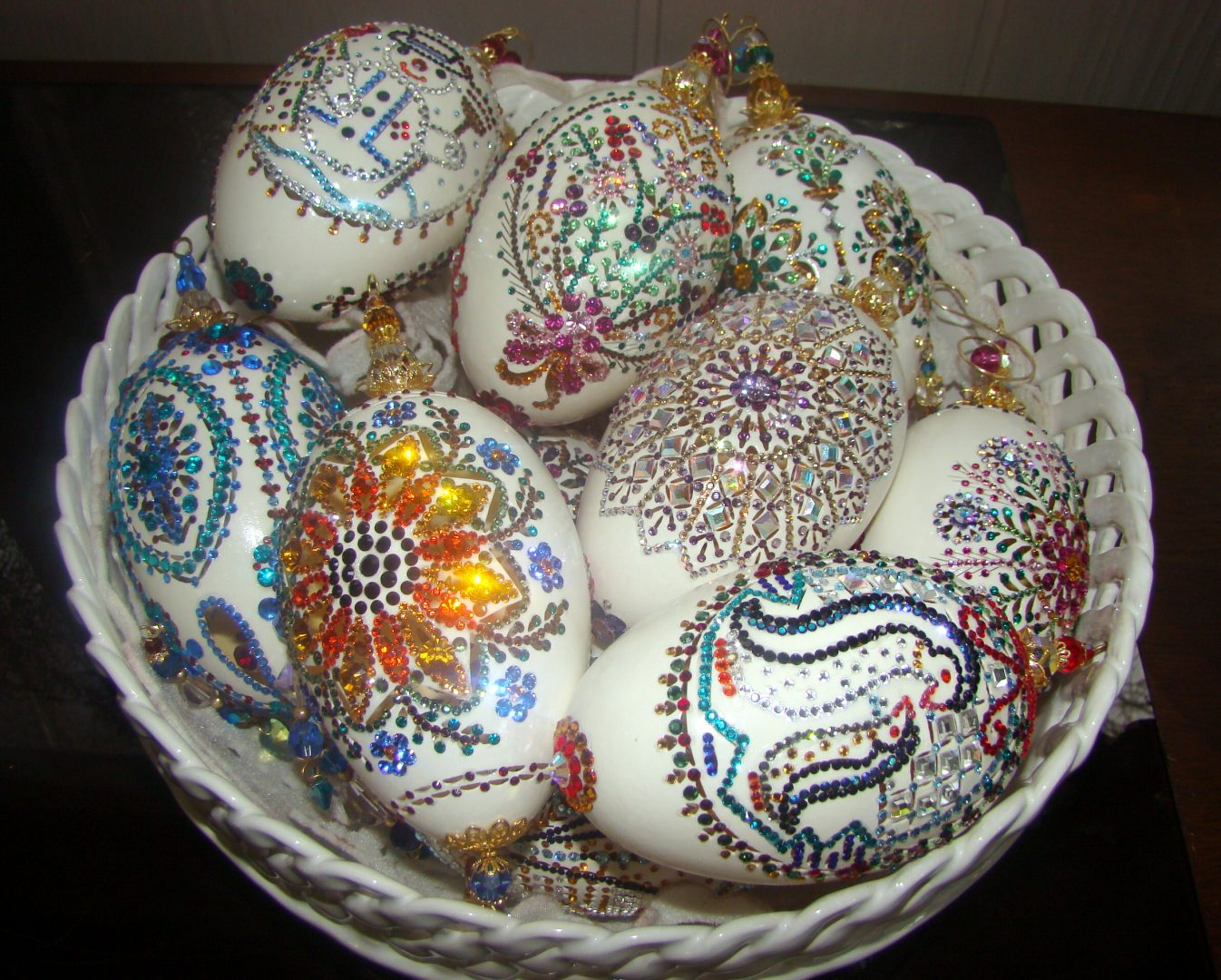 Painted Egg Art
