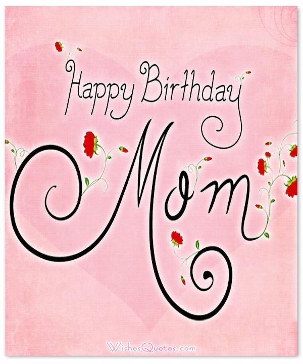 Nice Happy Birthday Mom