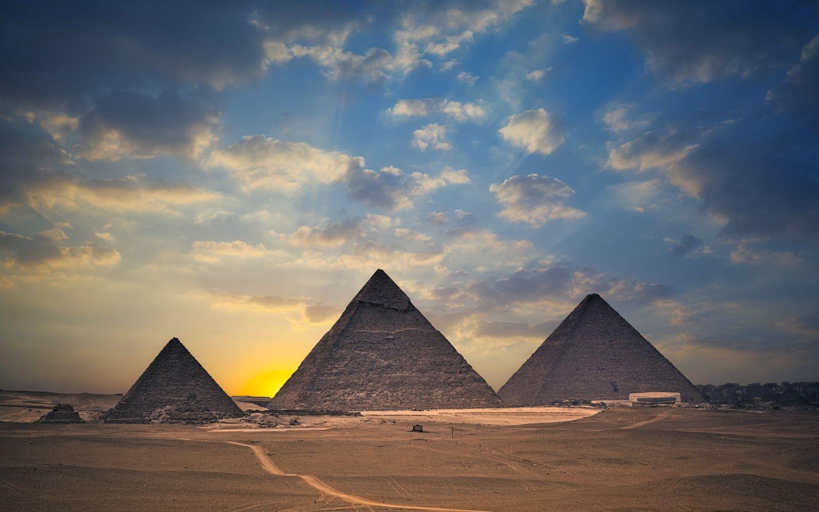 Clouds Egypt Wallpaper