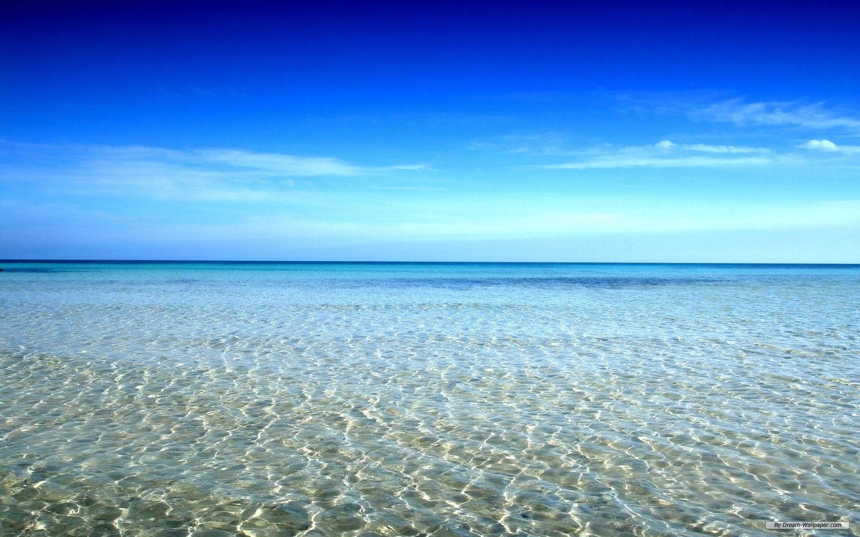 Natural Seaside Wallpaper