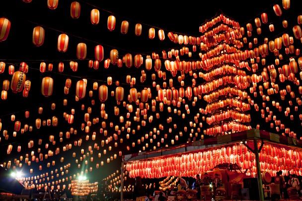Stunning Obon Festival