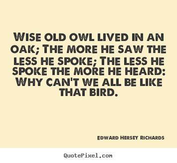 Inspirational Old Sayings