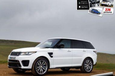 White Range Rover Sport 9941