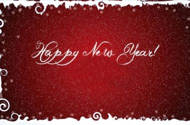 3D New Year Photo