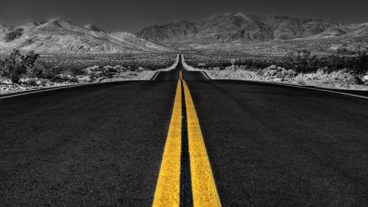 California Road Wallpaper HD