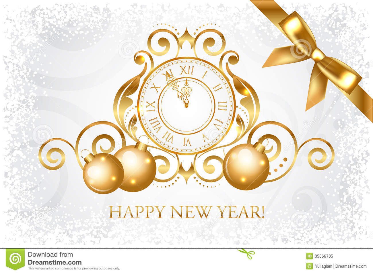 Wallpaper OF New Year Card 10642 - HDWPro