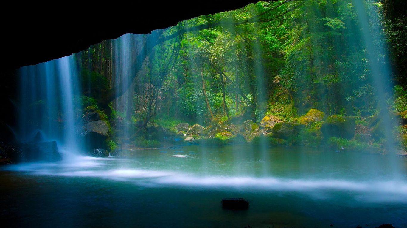 Super Hd Desktop Waterfall Desktop Wallpaper 10812