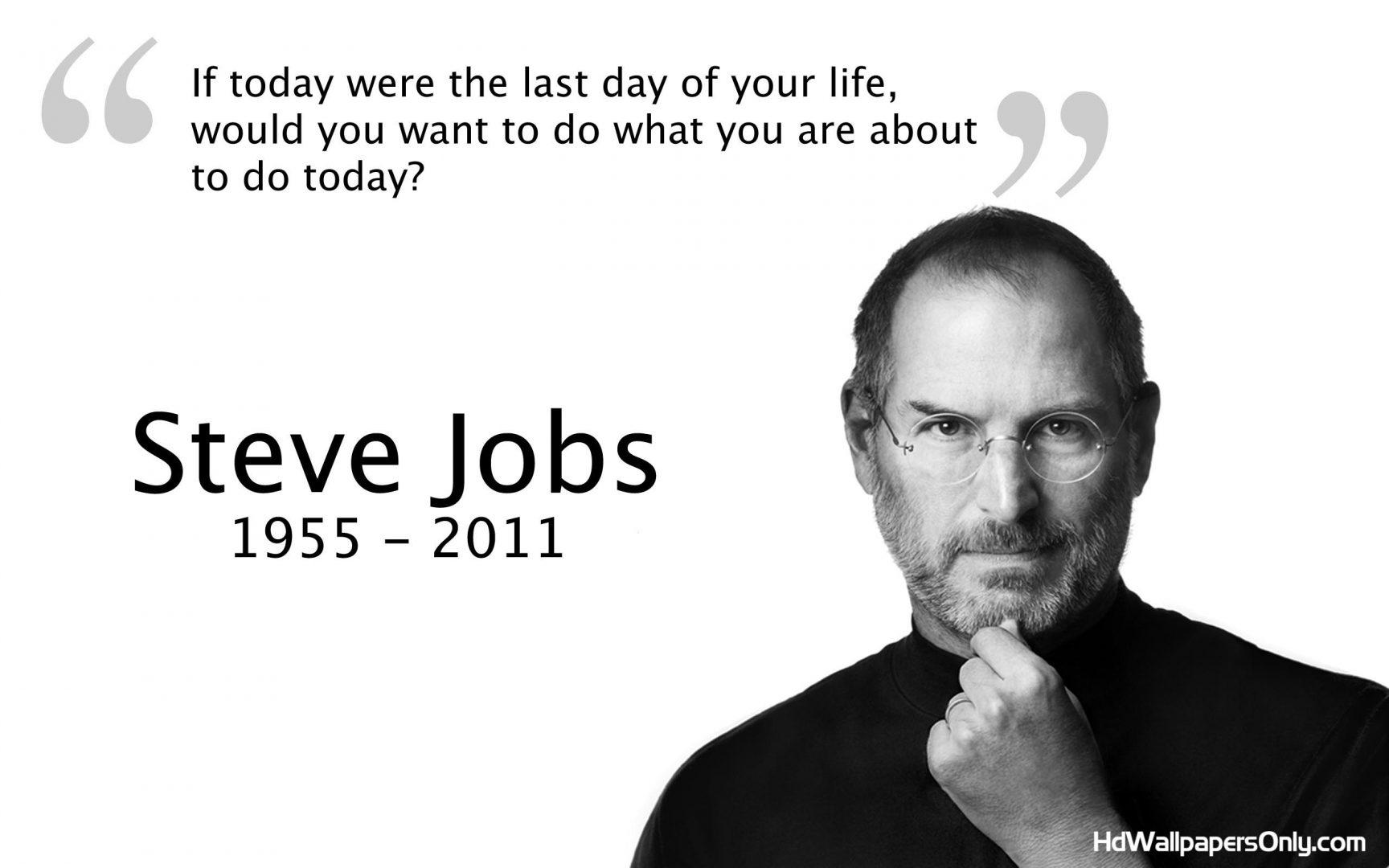 Steve Jobs Quotes Wallpaper Hd
