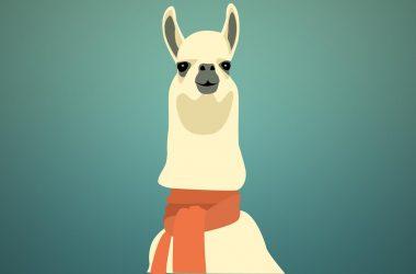 Art Llama Wallpaper