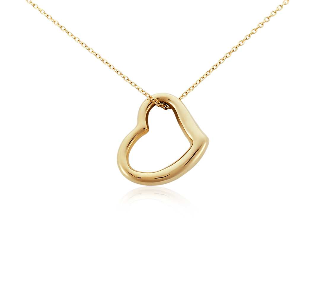Gold Pendant Heart