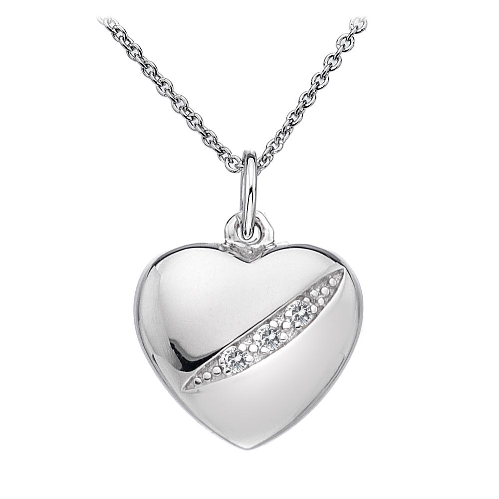 Silver Pendant Heart