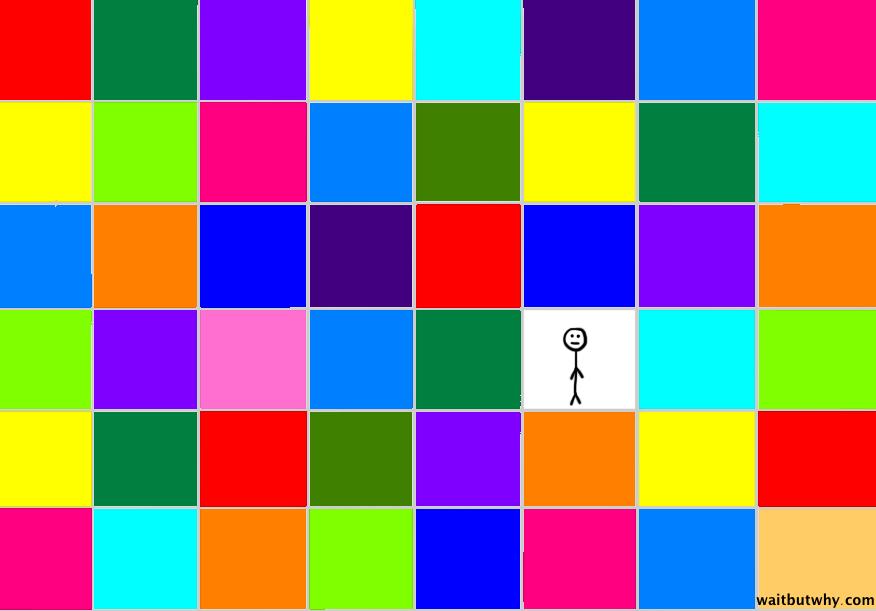Fractal Pixel Image