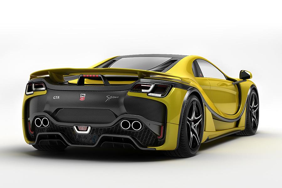 Yellow GTA Spano