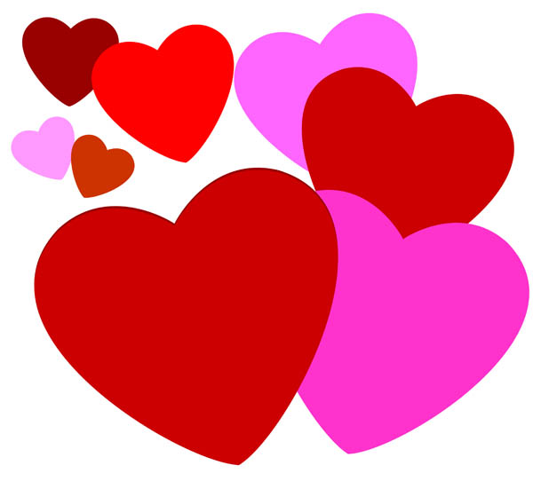 Beautiful Hearts Love