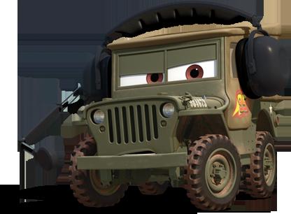 Free Cars 2 Sarge