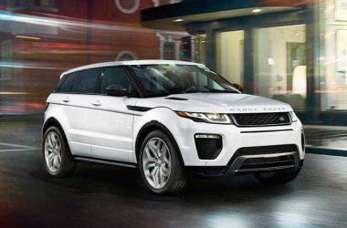 White Range Rover