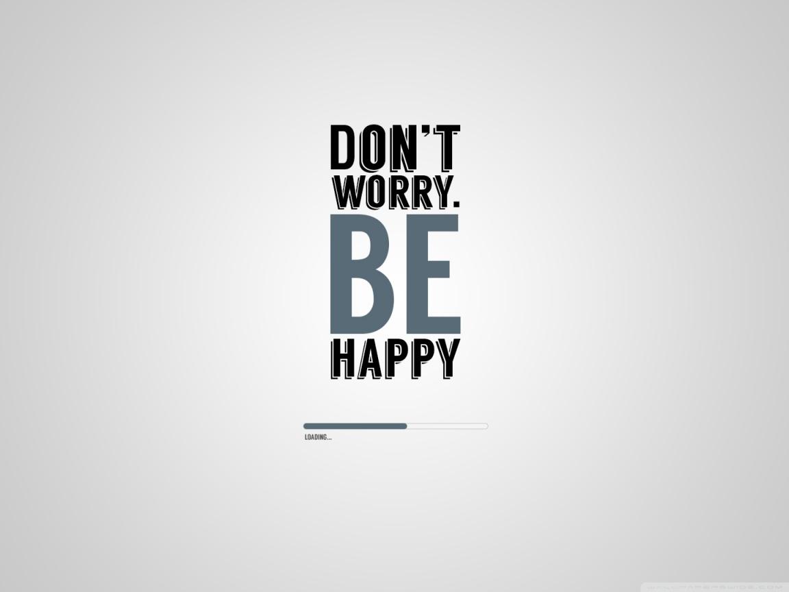 Nice Be Happy Wallpaper