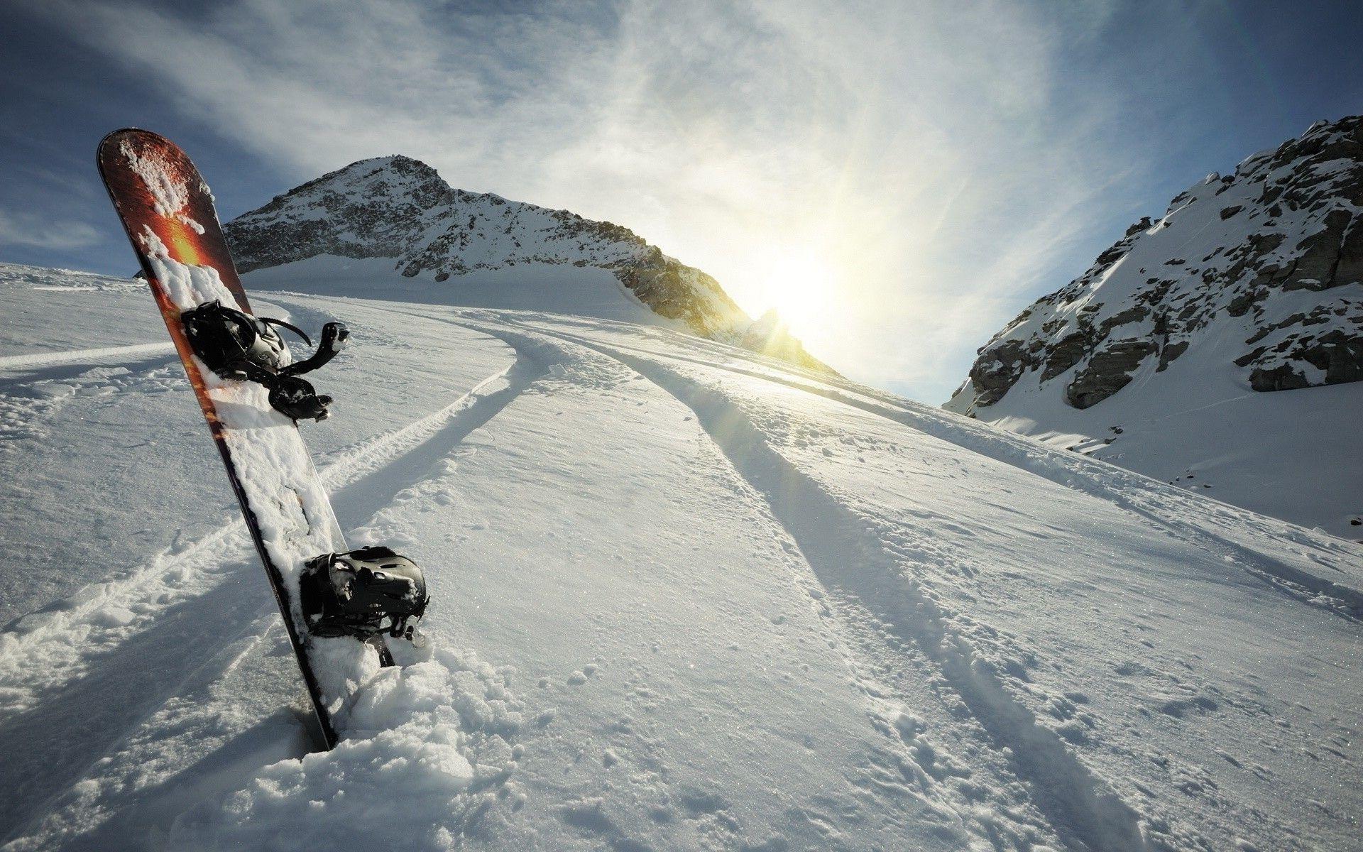 Beautiful Snowboarding Wallpaper