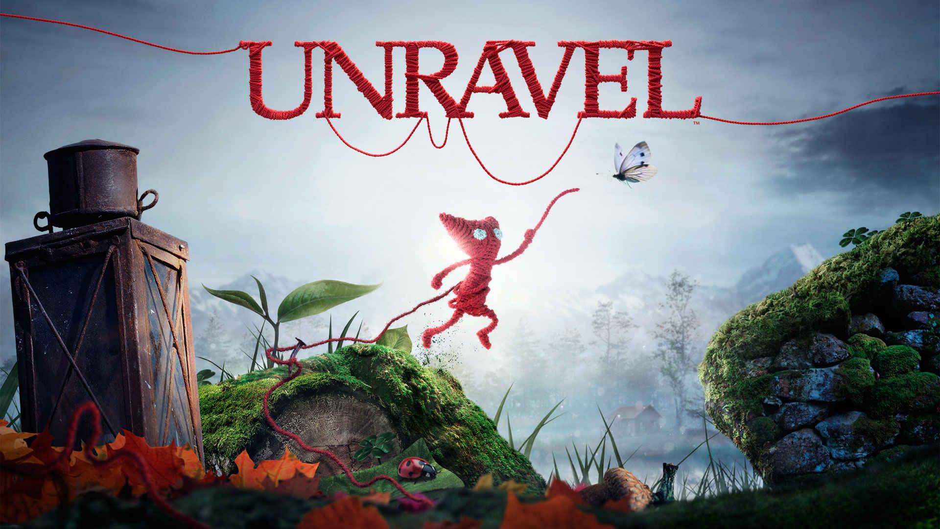 3D Unravel Game Wallpaper