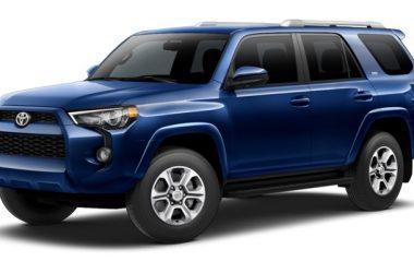 Blue Toyota 4Runner 13992
