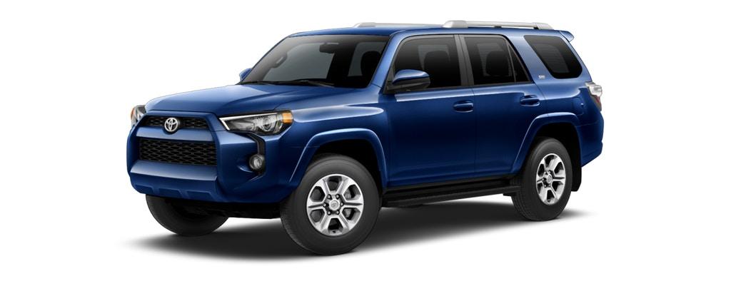 Blue Toyota 4Runner