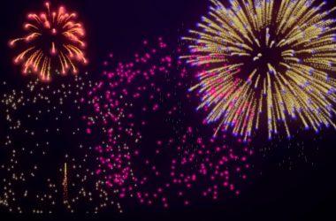 Art Fireworks Background 14407