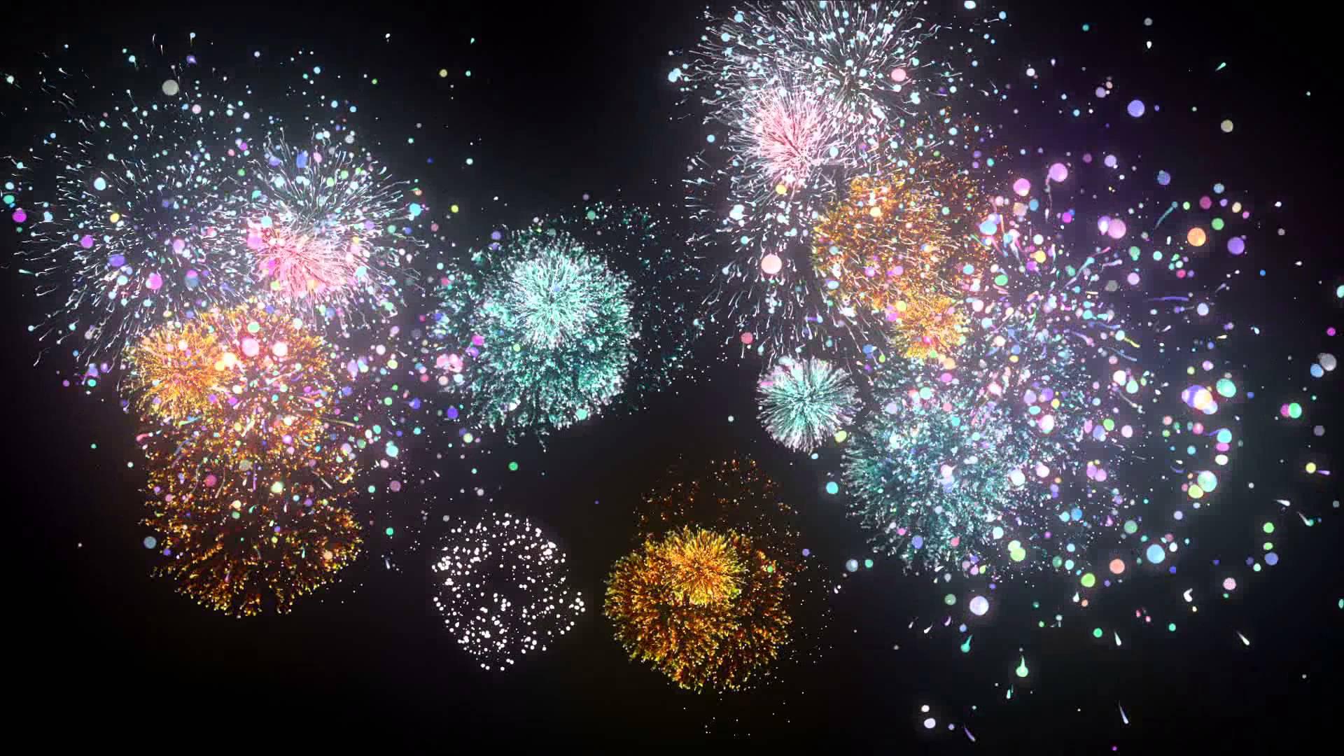 how to draw fireworks digital