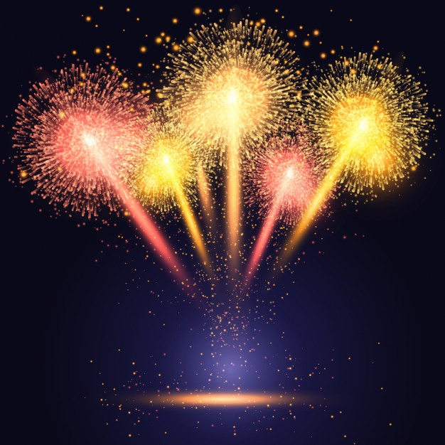 Stunning Fireworks Background