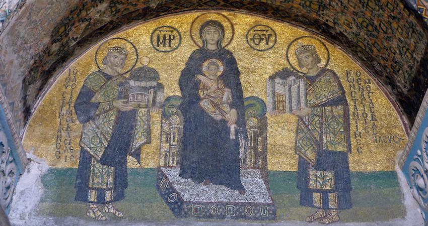 Landscape Hagia Sophia