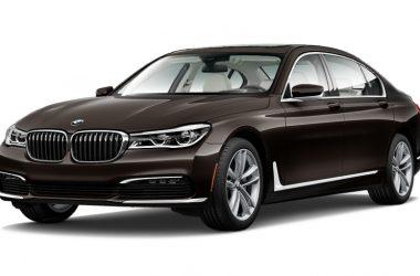Black BMW 7 Series