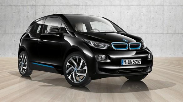 Black BMW i3