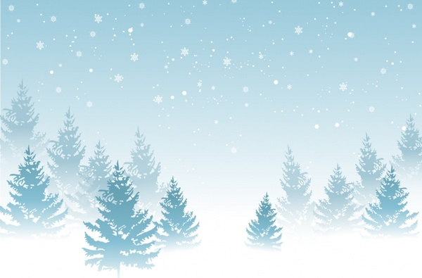 Free Winter Background