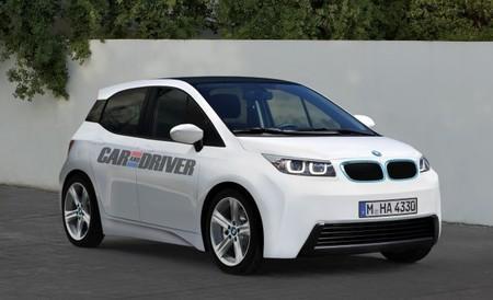 White BMW i3