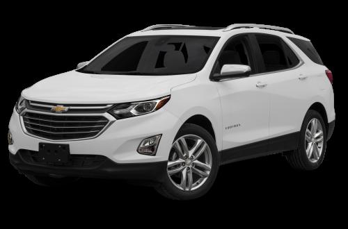 White Chevrolet Equinox