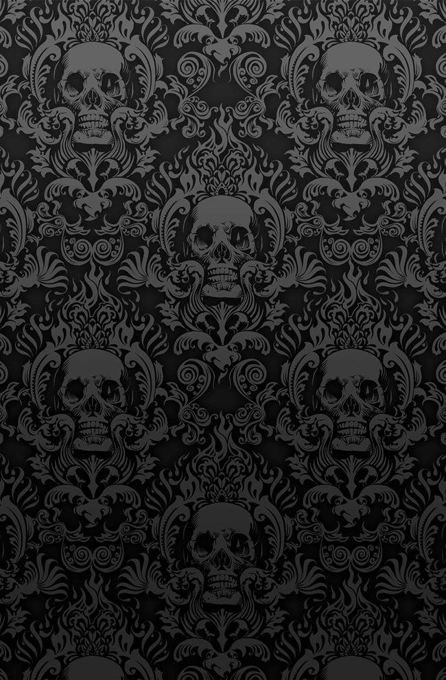 Skull Image Black Skull Wallpaper 16229